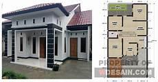 Denah Rumah 1 Lantai 3 Kamar Tidur Dan Garasi Desain