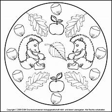 Ausmalbilder Herbst Mandala Kostenlos Herbst Mandala Igel 4 Medienwerkstatt Wissen 169 2006 2017