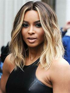 hottest middle part blonde water wavy bob hairstyle lace front wig