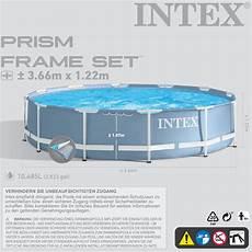 intex piscine piscina fuori terra frame pool rotonda