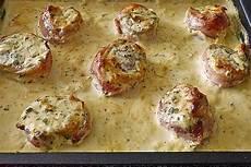 schweinefilet in bacon mit frischk 228 seso 223 e 252 berbacken