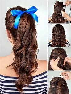 Einfache Frisuren Mit Haarband - hair tutorials die sch 246 nsten frisuren zum nachstylen