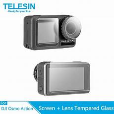 Telesin Tempered Touch Screen Lens Protective by Telesin Tempered Glass Screen Lens Protective Cover