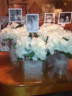 60th anniversary party idea for table centerpiece put a