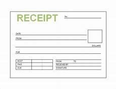 free printable receipt book shop fresh