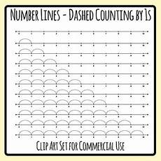skip counting number line for multiplication worksheets 11962 number lines dashed counting by ones or multiplication by 1s skip counting