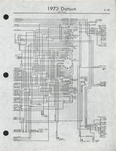 Half A Wiring Diagram 1973 Datsun 620 Datsun 240z