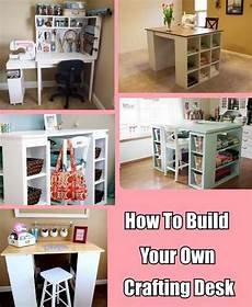 how to build your own crafting desk craft desk craft