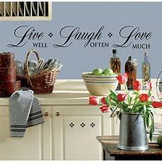 home decor decals new black live well laugh often much wall decals room
