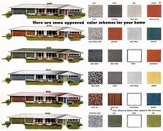 mad for mid century exterior mid century color palette
