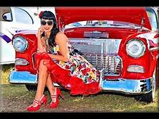 Hot Rods Rat And Pin Up Girls Car Show Turkey Rod