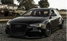 Audi A4 Avant Tuning - low rider audi a4 avant german cars black a4 audi