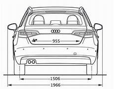 Audi A3 Sportback 8v Abmessungen Technische Daten