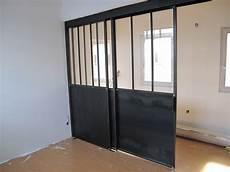 porte coulissante dans cloison cloison vitr 233 e bigood