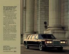 car manuals free online 1988 lincoln town car lane departure warning 1988 lincoln town car brochure