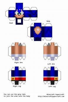 papercraft mobs sonic the hedgehog mod brinquedos de