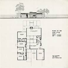 eichler house plans eichler plan cc 184 claude oakland eichlers house