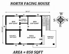 vastu for house plan facing north 34 x21 5 quot 2bhk north facing house plan as per vastu