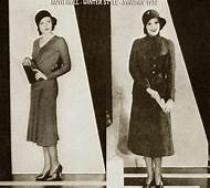 1930s Fashion  Winter Style January 1932