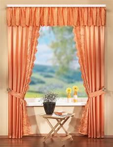 gardinen deko deko gardinen set mit stickerei 60022 ebay