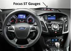 best auto repair manual 2012 ford focus instrument cluster dash cover ford focus st 2012 2018 with dash gauges