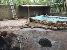 Teichfilter In Brasilien Mit 4 Regentonnen F 252 R 40000 Liter