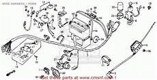 1965 Honda C100 Wiring Diagram