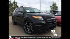 Used 2015 Black Ford Explorer 4wd Sport In Depth Review