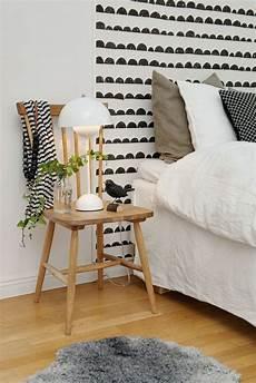 le de chevet en bois table de nuit au design inhabituel et insolite