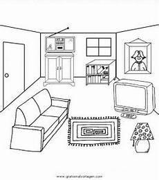 Ausmalbilder Playmobil Wohnzimmer Malvorlagen Zimmer Coloring And Malvorlagan