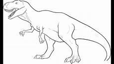 Malvorlagen Dinosaurier T Rex Easy Pk How To Draw Dinosaur T Rex In Simple Lines