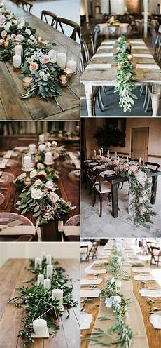 15 greenery garland wedding centerpiece ideas for table oh best day ever