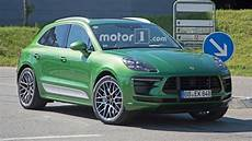 2019 porsche macan gts 2019 porsche macan facelift getting more power across the