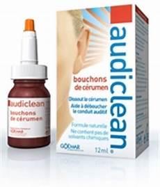 deboucher les oreilles audiclean 12 ml traitement bouchon de c 233 rumen