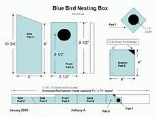easy bluebird house plans bluebird house plans simple diy blueprint plans download