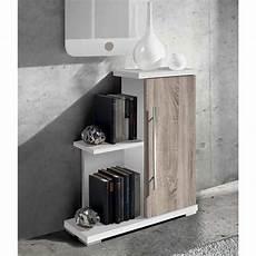 meuble d entr 233 e en bois avec 1 porte coloris blanc