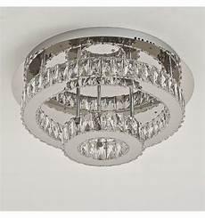 Led Deckenleuchte Kristall - deckenleuchte led kristall 2 kreis design diez
