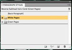 an intermediate guide to stylesheets for adobe indesign