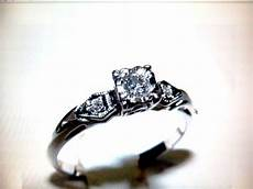 newly engaged any other vintage engagement rings weddingbee
