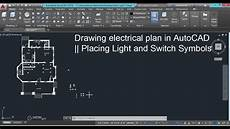Type Of Electrical Plan by Drawing Electrical Plans In Autocad Placing Light And