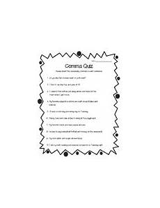 commas in a series worksheet teachers pay teachers