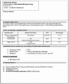 10 fresher resume templates download pdf