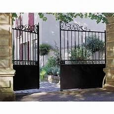 portail en fer lapeyre portail battant acier rambouillet deco gates railings