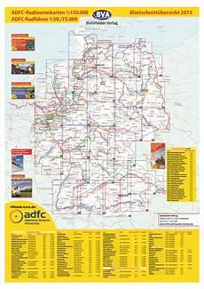 Adfc Radtourenkarten 220 Bersicht