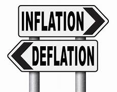 inflation und deflation european data shows deflation does not exclude economic