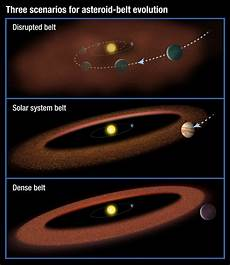 asteroid belt required for intelligent life to develop