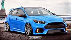 2016 ford focus rs gets virtually tuned