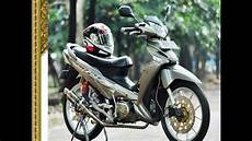 Supra X 125 Modifikasi by Modifikasi Motor Supra X 125 Simple Bergaya Standart