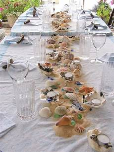 beach combing tablescape l beach party ideas l www carolinadesigns com in 2020 beach themes