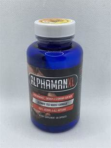 nutrition essentials alphaman xl male sexual enhancement